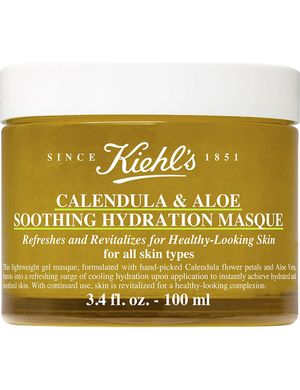 KIEHL'S Calendula & Aloe Soothing Hydration Mask - зволожуюча і пом'якшуюча маска 100 мл