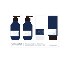 Pyunkang Yul Ato Sample Pouch (Ato Cream Blue Label + Ato Moisturizing Soothing Gel Lotion + Ato Nourishing Baby Oil + Ato Lotion Blue Label) — безкоштовний семпл (1 на вибір)
