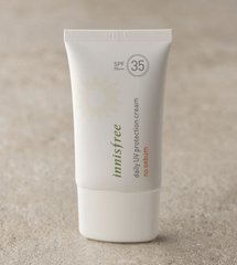 Innisfree Daily UV Protection Cream No Sebum SPF35/PA+++ - сонцезахисний крем
