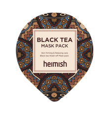 Heimish Black Tea Mask Pack - ранкова експрес-маска (міні)
