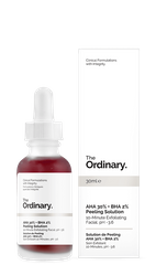Пілінг The Ordinary AHA 30% + BHA 2% Peeling Solution