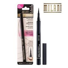Чорна підводка-фломастер Milani Eye Tech Extreme Liquid Eye Liner Blackest Black 01