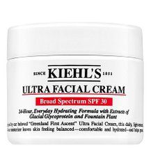 KIEHL'S Ultra Facial Cream SPF 30 - зволожуючий крем з SPF 30