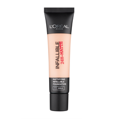 Стійкий тональний L'Oreal Paris 24h Infaillible 10 Porcelain